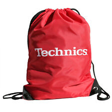 Technics / DMC Wax Sac - Gym Style sac - Vinyle sac - Classic Rouge (TWR1) NEUF