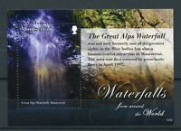 Montserrat 2016 MNH Waterfalls of World 1v S/S Great Alps Waterfall Stamps