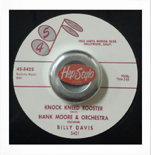 "45Re ✦ HANK MOORE ✦ ""Knocked Kneed Rooster / Sour Mash"" Killer Guitar 2 Sider ♫"