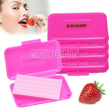 200Boxes Dental Orthodontic Wax Gum Irritation for Braces Pink Strawberry Scent