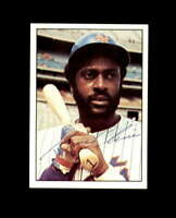 Gene Clines Hand Signed 1975 SSPC New York Mets Autograph