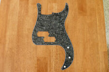 PICKGUARD BLACK PEARLOID 3 PLY FOR P BASS / PRECISION BASS