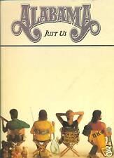 ALABAMA.JUST US. MUSIC BOOK. PIANO.VOCAL.GUITAR
