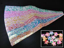 120 strips Origami Paper Folding Kit Lucky Wish Star Cute Heart size 1x25 cm.
