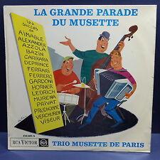 TRIO MUSETTE DE PARIS La grande parade DU musette 430083S Pochette dessin