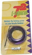 Kor T2 Locking Headset Nut 1 1/8 Purple Lock Nut NEW!