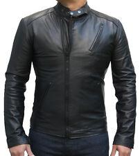 Iron Man Tony Stark película réplica chaquetas de cuero negro