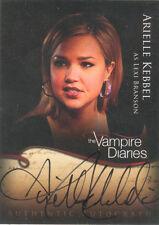 """Vampire Diaries - A14 Arielle Kebbel """"Lexi Branson"""" Autograph Card"""