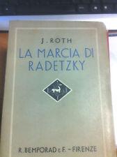 1935 J. ROTH - LA MARCIA DI RADETZKY