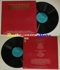 LP Tutto il mondo dei MATIA BAZAR italy 1992 FONIT CETRA VDI 133 cd mc dvd vhs