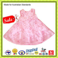 GENUINE AUS-Baby Toddler Girls Sketch Summer Party Special Occasion Dress-SALE