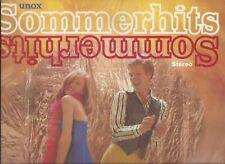 Unox Sommerhits : Schlager + Pop  Sampler - Vinyl LP mit 12 Titeln 1970er
