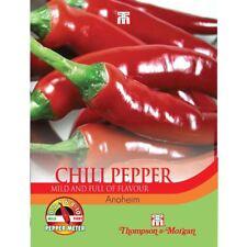Thompson & Morgan-Pepper Chili Anaheim - 6 semillas