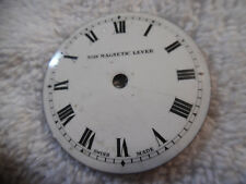 Magnetic Lever Swiss Made 79-9V Pocket Watch Face Non Non
