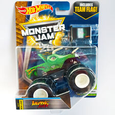 2017 Hot Wheels Jurassic Attack - Monster Jam /w Team Flag - NEW LOOK! Creatures