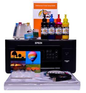 Sublimation printer A4 starter bundle package non oem Epson xp-3105 Dye Sub