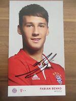 Handsignierte AK Autogrammkarte *FABIAN BENKO* FC Bayern München 16/17 2016/2017