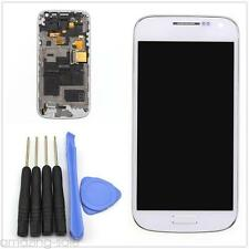 New LCD Display+Touch Screen Glass Frame For Samsung Galaxy S4 Mini 9195 White