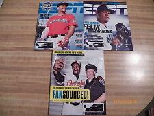 ESPN Magazines GianCarlo Stanton Felix Hernandez Adam Jones MLB sports baseball
