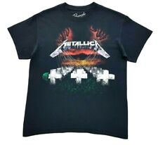 Metallica Master Of Puppets Tee Black Size Medium Mens T Shirt Bravado