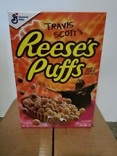 Travis Scott - Reese'S Puffs Cereal - Cactus Jack - Family Size - Limited - New