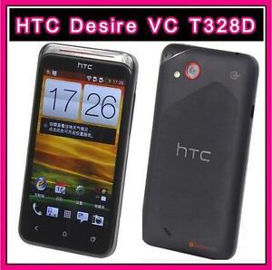 Original Unlocked HTC Desire VC T328d Android 3G GPS WIFI 4.0'' 5MP Dual SIM