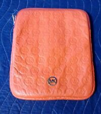 Michael Kors Persimmon Genuine Leather Ipad Case 32S2GELL3T
