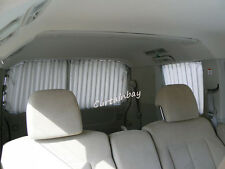Toyota Hiace complete rear curtain set Campervan blinds Grey