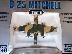 """FRANKLIN MINT B-25 U.S.A  AIR FORCE W.W II """"98181""""."""