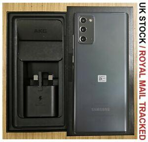 Samsung Galaxy Note20 SM-N980F/DS - 256GB - Mystic Grey (Unlocked) SIM FREE