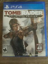 Tomb Raider - Definitive Edition (Sony PlayStation 4, 2014)