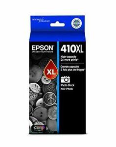 Epson 410XL Claria Premium High-Capacity Black Ink Cartridge (T410XL120)