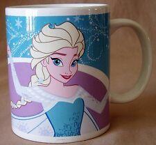 Disney Elsa Frozen Snow Queen Coffee Mug Cup Zak! Brand 12oz Princess Blue Nwt