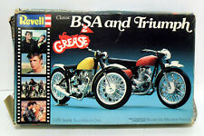Rare Revell Grease 2 Classic BSA 650cc Lightning  & Triumph Motorcycle Kit
