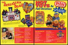 THE BERENSTAIN BEARS__Original 1993 Trade print AD / Toy promo__Chosun__TV Teddy