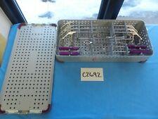 Cayenne Medical Surgical Orthopedic Arthroscopic Shoulder Instrument Set W/ Case