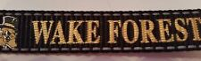 """Wake Forest Dog Leash NWT Size L Large 1"""" x 4' Reflective Demon Deacons NWT"""