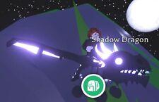 Neon Shadow Dragon Fly Ride Legendary Adopt Me Roblox Super Very Rare