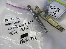 YAMAHA NOS YCS1 YCS1C CS3 CS5 1968-1972 MAIN AXLE, 174-17411-01-00