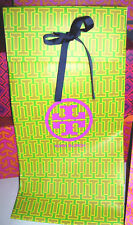 Tory Burch Large Tall Gift Storage Bag 13 x 6.75 x 4.75