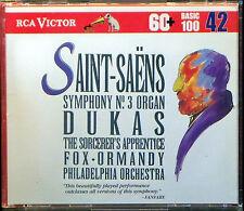Saint-Saens: Symphony No3; Samson et Dalila (CD, May-1994, RCA)