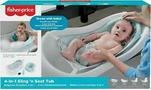 Fisher Price 4 in 1 Sling 'n Seat Baby Bath Tub
