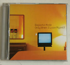 Depeche Mode  Only When I Lose Myself  Cd-Sgl UK 1998
