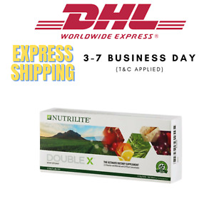 AMWAY NUTRILITE DOUBLE X 31 Day Tablet Supplement Multivitamin DHL SHIPPING