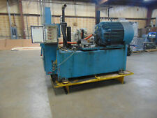 150 Hp Hydraulic Power Unit 200 Gallon Tank Will Part Out Unit