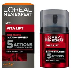 Anti Ageing Moisturiser L'Oreal Anti-Wrinkle Men Expert Vita Lift 5