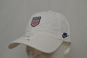NEW NIKE TEAM USA OLYMPIC CAP HERITAGE 86 ADULT UNISEX 1 SIZE DH2398-100 WHITE