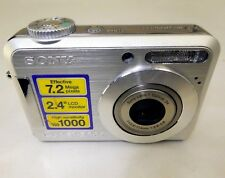 Sony Cyber-shot DSC-S700 7MP digita Camera AS IS with lens stuck Parts or Repair