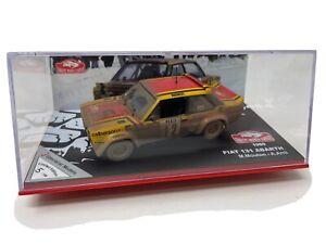 IXO 1:43 Fiat 131 Abarth Rally Car Monte Carlo  1980 Ltd Ed 1/100 Staged Effect