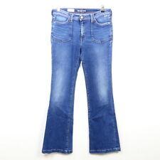 PEPE JEANS Jeans Hose Denim Flare High Waist Blau Gr. W32
